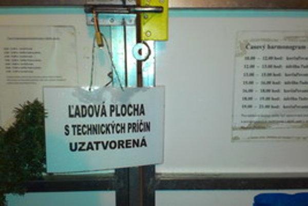 Klzisko bolo viackrát minulú zimu zatvorené.
