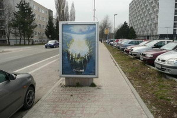 City light na Bottovej na Prednádraží.