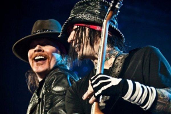 Hlavnou hviezdou piešťanských festivalov bude skupina Guns N' Roses.