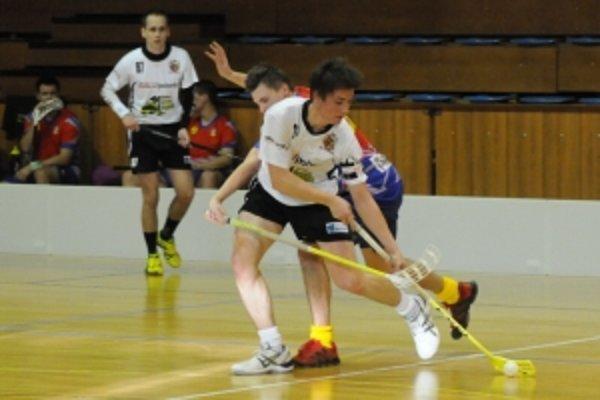 Kapitán Matej Vanta doviedol mužstvo FBC 11 Trnava k historicky prvému domácemu víťazstvu.