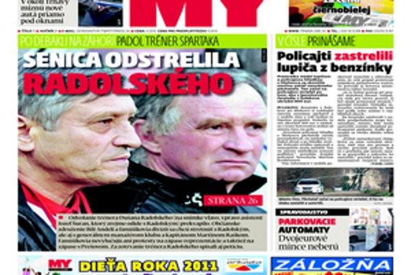 Aktuálne vydanie týždenníka MY Trnavské noviny.