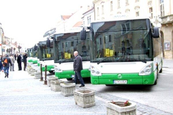 Po Trnave jazdí 19 ekologických autobusov.