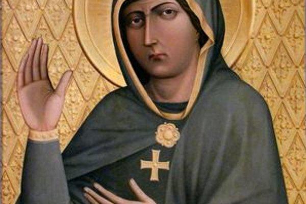 Slziaci obraz Panny Márie Trnavskej. Pochádza z Ríma, je kópiou obrazu z tamojšieho kostola sv. Alexeja a Bonifáca.