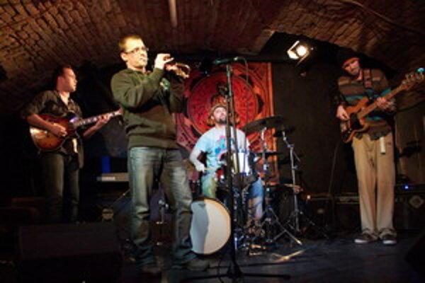 Trnavské kvarteto Jazzster.