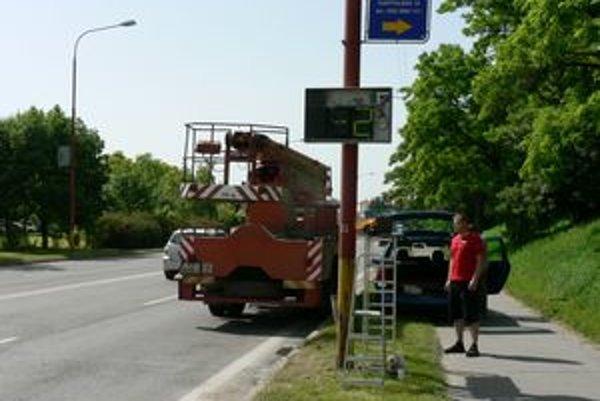Ešte nie je isté, či dočasne nainštalovaný radar na Hlbokej ulici zostane natrvalo
