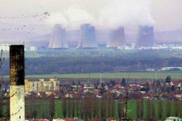 Nová jadrová elektráreň, ktorá by mala vyrásť na mieste v súčasnosti odstavovanej jadrovej elektrárne V1.