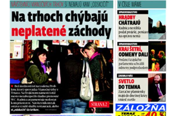 Práve vychádza nové číslo MY-Trnavských novín.