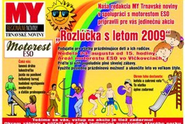 Rozlúčka s letom už túto nedeľu v Motoreste Eso vo Vlčkovciach.