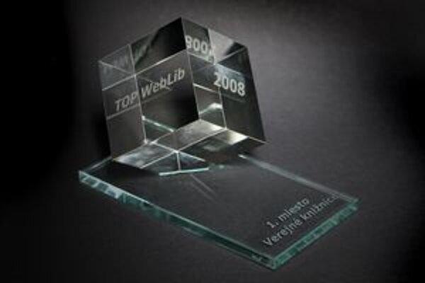 Piešťanská knižnica získala aj cenu za najsympatickejšiu webovú stránku.