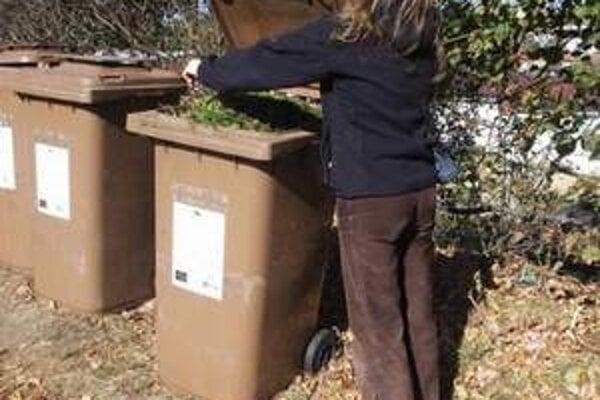 V Piešťanoch pribudne 200 nových nádob na bioodpad.