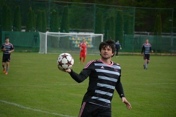 Hrajúci tréner MŠK Slovan Tr. Teplice Martin Fabuš.