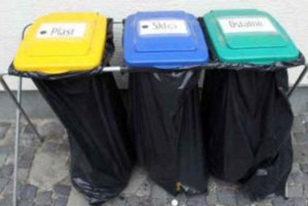 Triedený odpad je zahrnutý v poplatku za smeti.