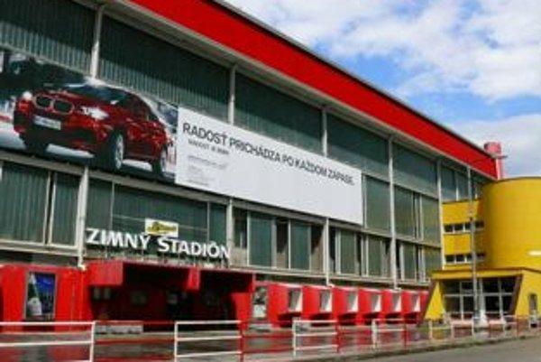 Zimný štadión Pavla Demitru v Trenčíne