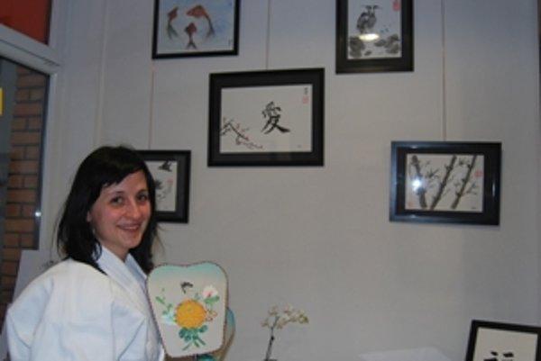 Novomešťanka Bibiana Munková-Malovcová sa venuje čínskej tušovej maľbe