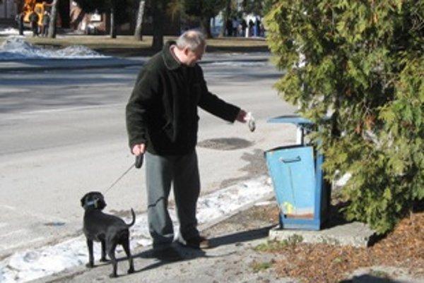 Po psovi by mal upratať jeho majiteľ