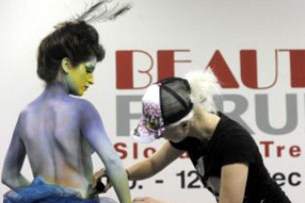Témou Majstrovstiev Slovenskej republiky v maľovaní na telo BODY ART 2012 je história
