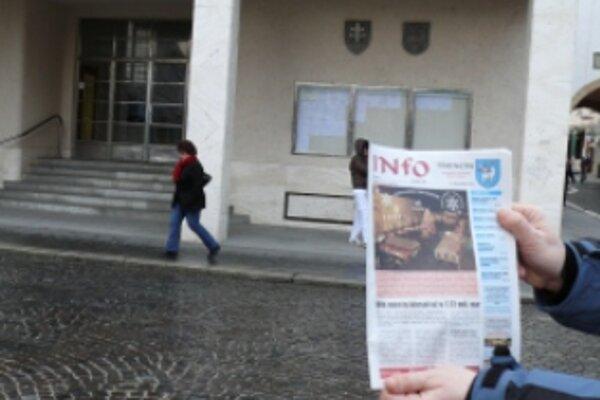 Trenčín dá ročne na noviny minimálne 20 tisíc eur