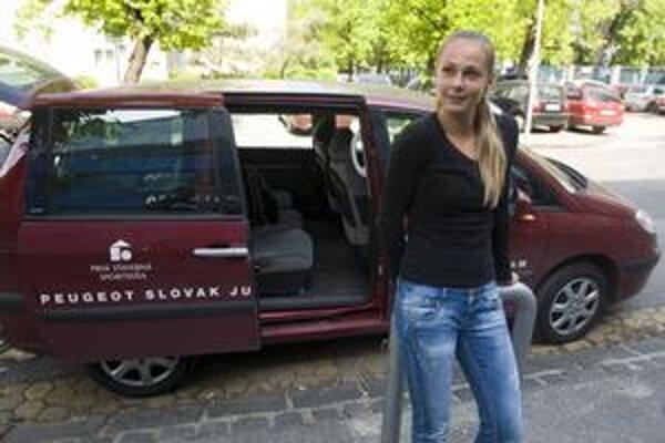 Magdaléna Rybáriková pred cestou na zápas Pohára federácie Francúzsko – Slovensko.