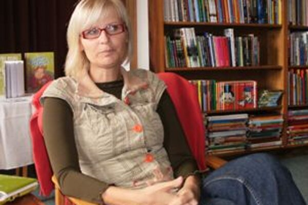 Gabriela Futová vymenila žurnalistiku za detské knihy.