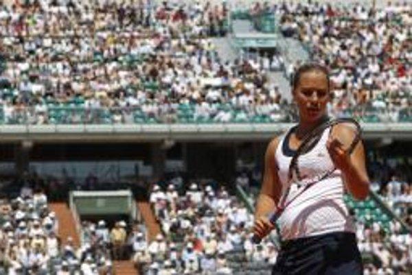 Dominika Cibulková: Až bude pre mňa semifinále obyčajný zápas, môžem ísť ešte vyššie.