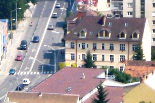 Univerzitné byty sú aj v nadstavbe domu na Štefánikovej ulici.