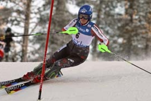 Veronika Zuzulová štartuje v zajtrajšom slalome v španielskej La Moline.