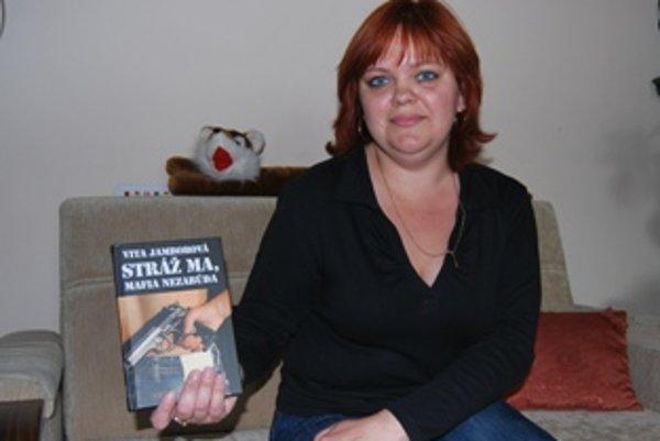 Vita Jamborová napísala kriminálny thriller z mafiánskeho prostredia.