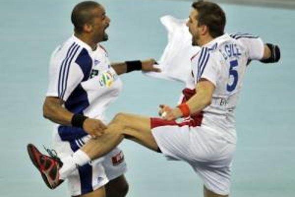 Vo finále majstrovstiev sveta sa tešili hádzanári Francúzska.