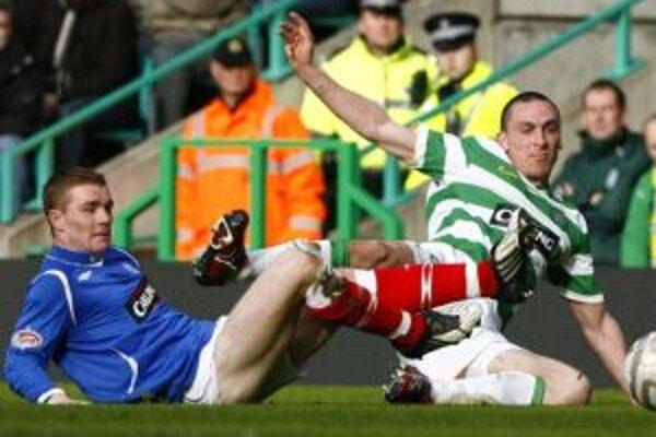 Rangers sa v Celtic Parku zvíťaziť nepodarilo.