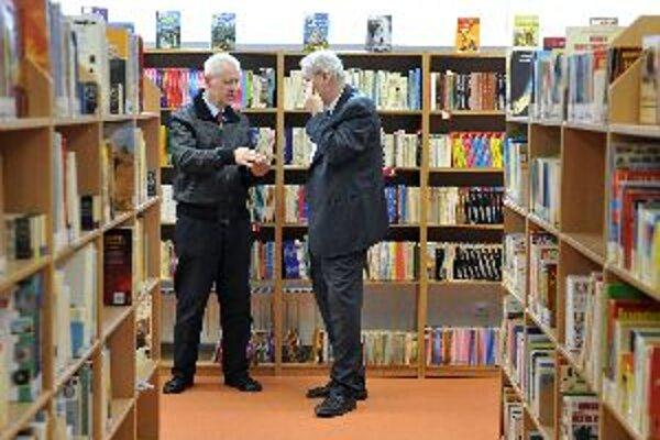 Knižnice navštevujú väčšinou deti a dôchodcovia.