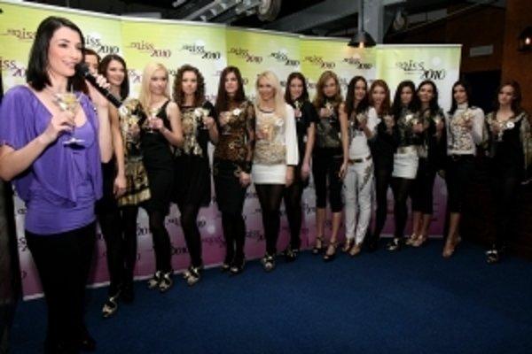 Finalistky súťaže o titul Miss Slovensko 2010