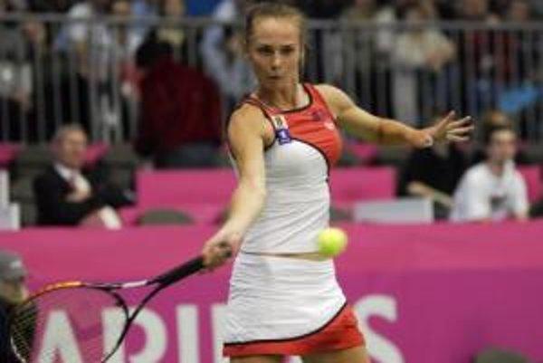 Zápas s Uzbekistanom začne Magdaléna Rybáriková.