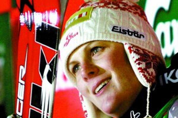 Nicole Hospová, v Aare prvá zlatá rakúska radosť.