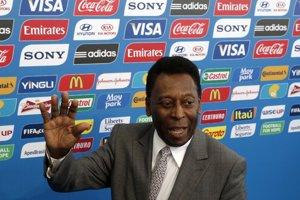Pelé, archívna fotografia.