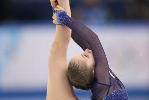 Úradujúca majsterka Európy Julia Lipnická. Mladej Ruske jazda nevyšla podľa predstáv a na medailu bude útočiť až z piatej pozície.