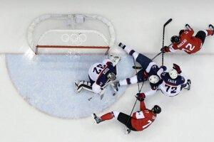 V druhom semifinále nastúpili USA proti Kanade.
