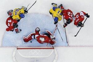 Švéd Nyquist nastrelil tyčku, Price si puk skoro zrazil sám za čiaru.