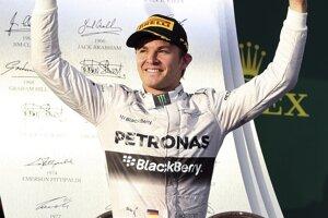 Víťaz Nico Rosberg.