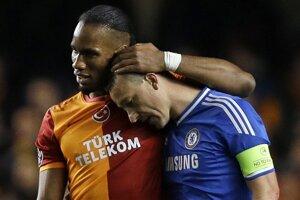 Futbalová liga majstrov pokračovalo dvojicou odvetných zápasov osemfinále. Postúpili Real Madrid a Chelsea FC.