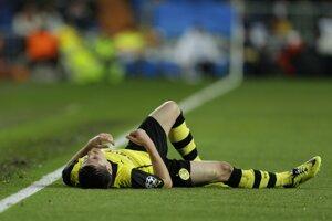 Borussia v Madride na vyrovnaný zápas nemala. Jonas Hofmann.