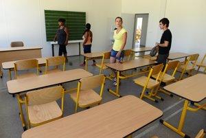Nová škola v Chminianskych Jakubovanoch