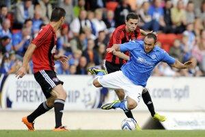 Futbalisti Spartaka Trnava v prvom zápase 3. predkola vyhrali na pôde škótskeho tímu St. Johnstone 2:1.