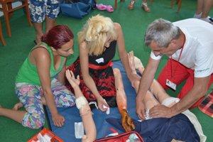 Rómovia sa učili poskytnúť prvú pomoc