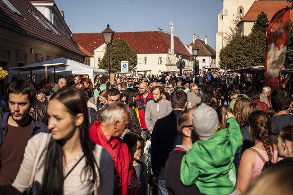 Trnavský rínek oslavuje štvrté narodeniny.