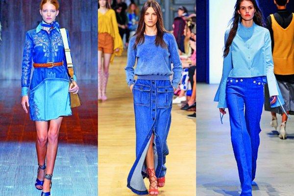 Zľava: Gucci, Chloé, Derek Lam