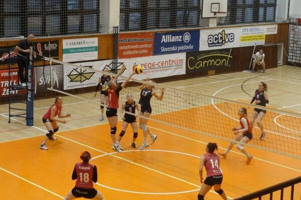 Zvolenčanky zdolali COP Nitra 3:0 a zahrajú si o konečné 5. miesto.