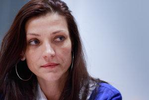 Jednou z obvinených v kauze piešťanského CT bola aj bývala riaditeľka nemocnice Mária Domčeková.