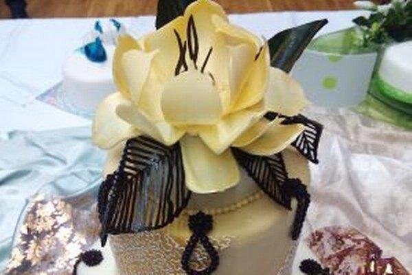 Torta získala v kategórii profesionál krásne 3. miesto.