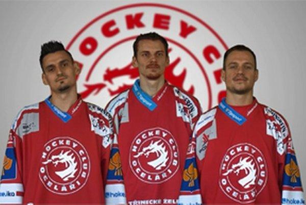 Zľava: Peter Hamerlík, Tomáš Kopecký a Vladimír Dravecký.