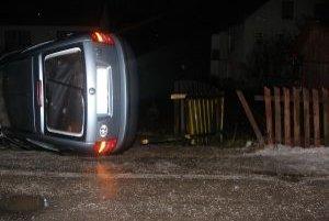 Pri nehode došlo k ťažkému zraneniu.